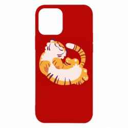 Чохол для iPhone 12/12 Pro Happy tiger