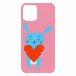 Чехол для iPhone 12/12 Pro Hare with a heart