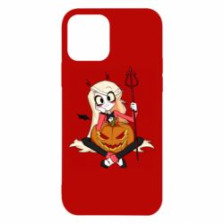 Чехол для iPhone 12/12 Pro Hazbin Hotel Charlie and pumpkin
