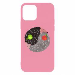 Чохол для iPhone 12/12 Pro Hedgehogs yin-yang