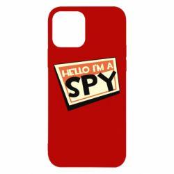 Чохол для iPhone 12/12 Pro Hello i'm a spy