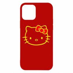 Чехол для iPhone 12/12 Pro Hello Kitty logo