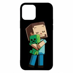 Чехол для iPhone 12/12 Pro Heroes from Minecraft