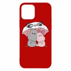 Чохол для iPhone 12/12 Pro Hippos