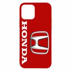 Чехол для iPhone 12/12 Pro Honda 3D Logo