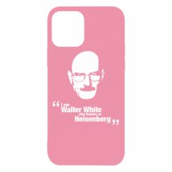 Чехол для iPhone 12/12 Pro i am walter white also known as heisenberg