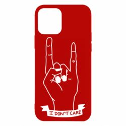 Чехол для iPhone 12/12 Pro I don't care 1
