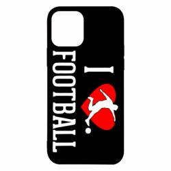 Чохол для iPhone 12/12 Pro I love football