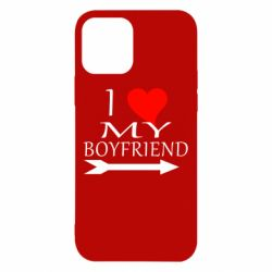 Чехол для iPhone 12/12 Pro I love my boyfriend