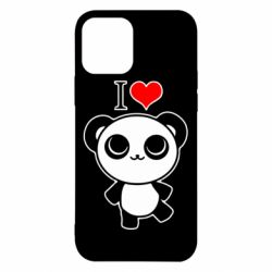Чохол для iPhone 12/12 Pro I love Panda