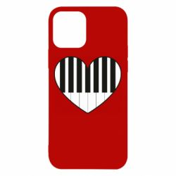 Чехол для iPhone 12/12 Pro I love piano