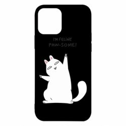 Чехол для iPhone 12/12 Pro I'm feline paw some