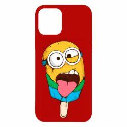 Чехол для iPhone 12/12 Pro Ice cream minions
