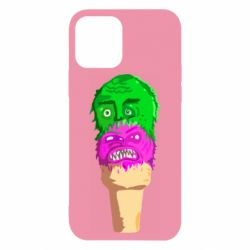 Чехол для iPhone 12/12 Pro Ice cream with face
