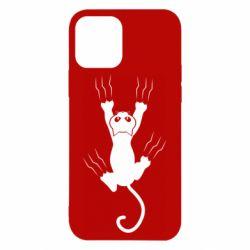 Чохол для iPhone 12 кот когти