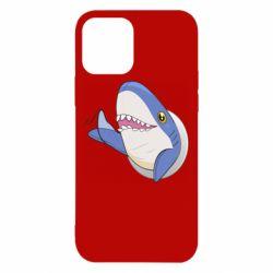 Чехол для iPhone 12/12 Pro Ikea Shark Blahaj