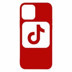 Чехол для iPhone 12/12 Pro Иконка тик ток