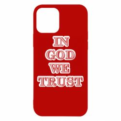 Чехол для iPhone 12/12 Pro In god we trust