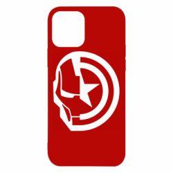 Чохол для iPhone 12/12 Pro Iron Man and Captain America