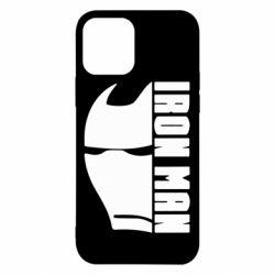 Чохол для iPhone 12/12 Pro Iron Man face and logo