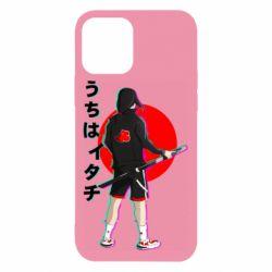 Чохол для iPhone 12 Itachi in modern clothes