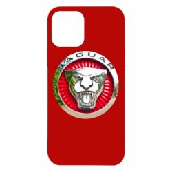 Чехол для iPhone 12/12 Pro Jaguar emblem