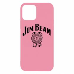 Чохол для iPhone 12/12 Pro Jim Beam logo