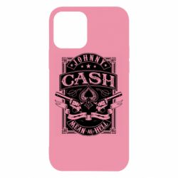 Чохол для iPhone 12/12 Pro Johnny cash mean as hell