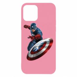 Чехол для iPhone 12/12 Pro Капитан Америка