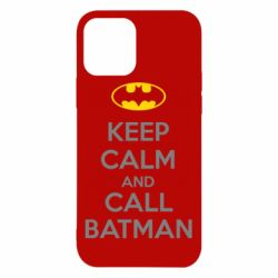 Чехол для iPhone 12/12 Pro KEEP CALM and CALL BATMAN