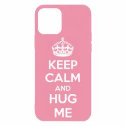 Чохол для iPhone 12/12 Pro KEEP CALM and HUG ME