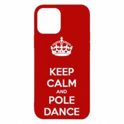 Чехол для iPhone 12/12 Pro KEEP CALM and pole dance
