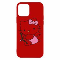 Чохол для iPhone 12 Kitty амурчик
