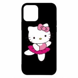 Чехол для iPhone 12 Kitty балярина