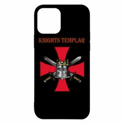 Чохол для iPhone 12/12 Pro Knights templar helmet and swords