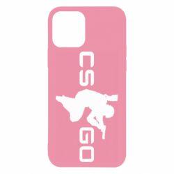Чехол для iPhone 12/12 Pro Контр Страйк, логотип и игрок