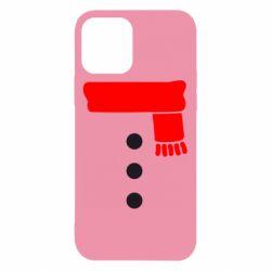 Чохол для iPhone 12/12 Pro Костюм сніговика