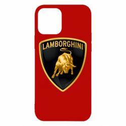 Чохол для iPhone 12/12 Pro Lamborghini Logo