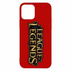 Чехол для iPhone 12/12 Pro League of legends logo