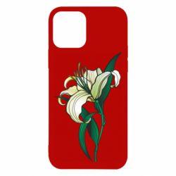 Чохол для iPhone 12 Lily flower