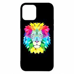 Чехол для iPhone 12/12 Pro Lion vector