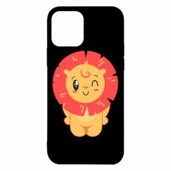 Чехол для iPhone 12/12 Pro Lion with orange mane
