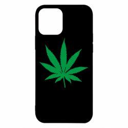 Чохол для iPhone 12/12 Pro Листочок марихуани