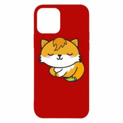Чехол для iPhone 12/12 Pro Little fox with tail