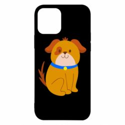 Чехол для iPhone 12/12 Pro Little funny dog