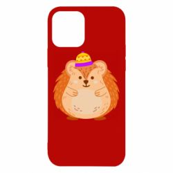 Чохол для iPhone 12/12 Pro Little hedgehog in a hat