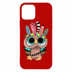 Чохол для iPhone 12 Little owl with feathers