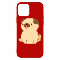 Чехол для iPhone 12/12 Pro Little pug