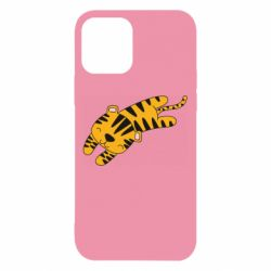 Чехол для iPhone 12/12 Pro Little striped tiger