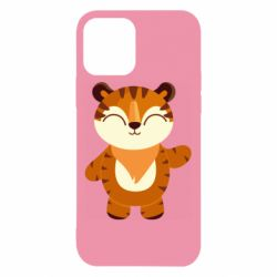Чехол для iPhone 12/12 Pro Little tiger with a smile
